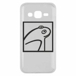 Чохол для Samsung J2 2015 Frog squared