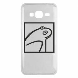 Чохол для Samsung J3 2016 Frog squared