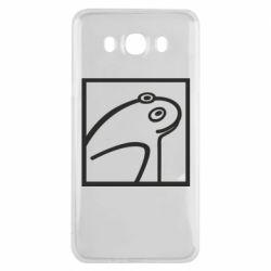 Чохол для Samsung J7 2016 Frog squared