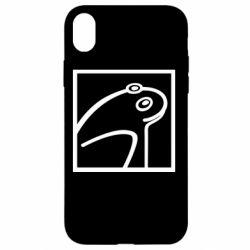 Чохол для iPhone XR Frog squared