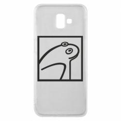Чохол для Samsung J6 Plus 2018 Frog squared