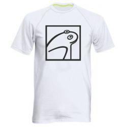 Чоловіча спортивна футболка Frog squared