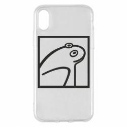 Чохол для iPhone X/Xs Frog squared