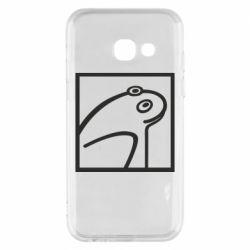 Чохол для Samsung A3 2017 Frog squared