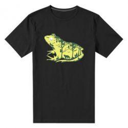Чоловіча стрейчева футболка Froggy Night