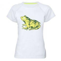 Жіноча спортивна футболка Froggy Night