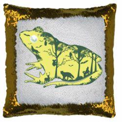 Подушка-хамелеон Froggy Night