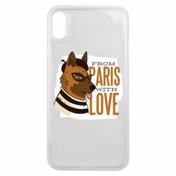 Чехол для iPhone Xs Max From Paris with love