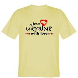 Мужская футболка From Ukraine (вишиванка) - FatLine