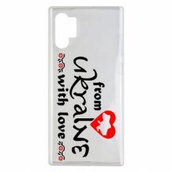 Чохол для Samsung Note 10 Plus From Ukraine (вишиванка)