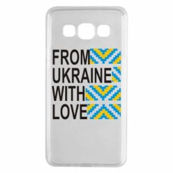 Чехол для Samsung A3 2015 From Ukraine with Love (вишиванка) - FatLine