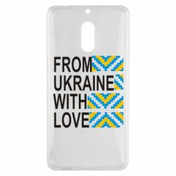 Чехол для Nokia 6 From Ukraine with Love (вишиванка) - FatLine