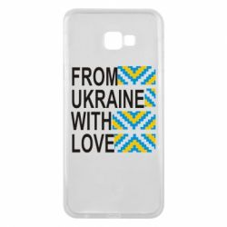 Чехол для Samsung J4 Plus 2018 From Ukraine with Love (вишиванка) - FatLine