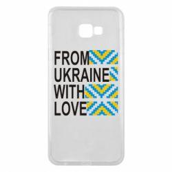 Чехол для Samsung J4 Plus 2018 From Ukraine with Love (вишиванка)