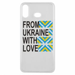 Чехол для Samsung A6s From Ukraine with Love (вишиванка) - FatLine