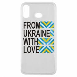 Чехол для Samsung A6s From Ukraine with Love (вишиванка)