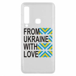 Чехол для Samsung A9 2018 From Ukraine with Love (вишиванка) - FatLine
