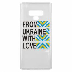 Чехол для Samsung Note 9 From Ukraine with Love (вишиванка) - FatLine