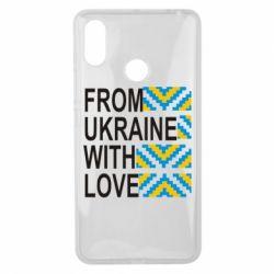 Чехол для Xiaomi Mi Max 3 From Ukraine with Love (вишиванка)