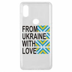 Чехол для Xiaomi Mi Mix 3 From Ukraine with Love (вишиванка)