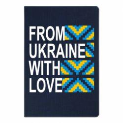 Блокнот А5 From Ukraine with Love (вишиванка)