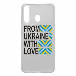 Чехол для Samsung A60 From Ukraine with Love (вишиванка)