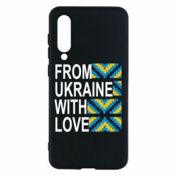 Чехол для Xiaomi Mi9 SE From Ukraine with Love (вишиванка)