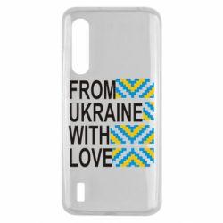 Чехол для Xiaomi Mi9 Lite From Ukraine with Love (вишиванка)