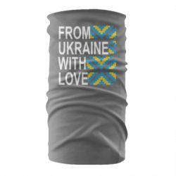 Бандана-труба From Ukraine with Love (вишиванка)