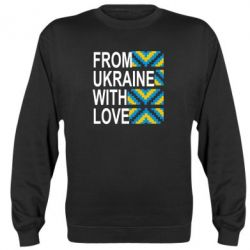 Реглан From Ukraine with Love (вишиванка)