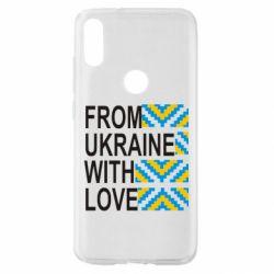 Чехол для Xiaomi Mi Play From Ukraine with Love (вишиванка)