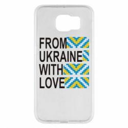 Чехол для Samsung S6 From Ukraine with Love (вишиванка)