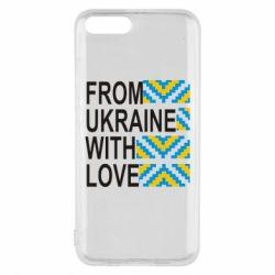 Чехол для Xiaomi Mi6 From Ukraine with Love (вишиванка)
