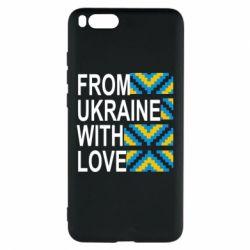 Чехол для Xiaomi Mi Note 3 From Ukraine with Love (вишиванка)