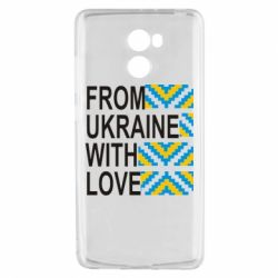 Чехол для Xiaomi Redmi 4 From Ukraine with Love (вишиванка) - FatLine