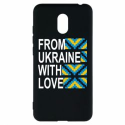 Чехол для Meizu M6 From Ukraine with Love (вишиванка) - FatLine