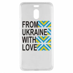 Чехол для Meizu M6 Note From Ukraine with Love (вишиванка) - FatLine