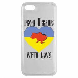 Чехол для Huawei Y5 2018 From Ukraine with Love - FatLine
