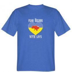 Мужская футболка From Ukraine with Love - FatLine