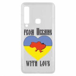Чехол для Samsung A9 2018 From Ukraine with Love - FatLine
