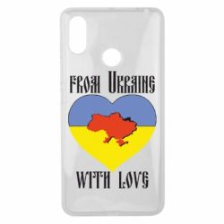 Чехол для Xiaomi Mi Max 3 From Ukraine with Love - FatLine
