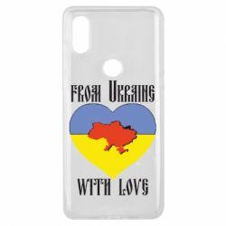 Чехол для Xiaomi Mi Mix 3 From Ukraine with Love - FatLine
