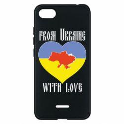 Чехол для Xiaomi Redmi 6A From Ukraine with Love - FatLine