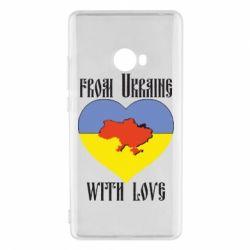 Чехол для Xiaomi Mi Note 2 From Ukraine with Love - FatLine