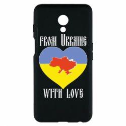 Чехол для Meizu M6s From Ukraine with Love - FatLine