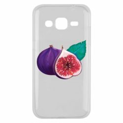 Чехол для Samsung J2 2015 Fruit Fig