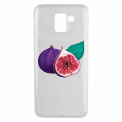 Чехол для Samsung J6 Fruit Fig