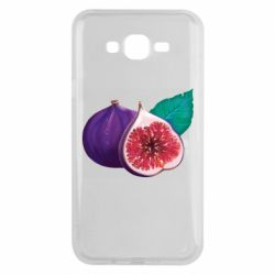 Чехол для Samsung J7 2015 Fruit Fig