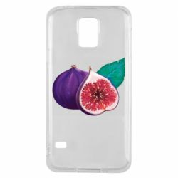Чехол для Samsung S5 Fruit Fig