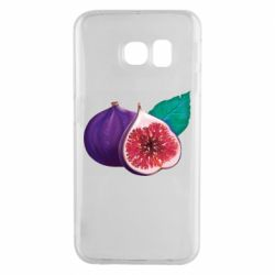 Чехол для Samsung S6 EDGE Fruit Fig